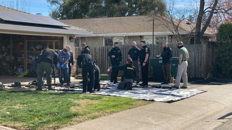 More than 100 guns, some explosive devices found in Carmichael home