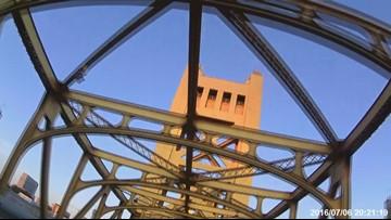 Lane closures coming this week on the Tower Bridge in Sacramento