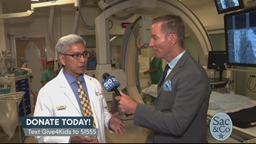 Mark S Allen LIVE from UC Davis Children's Hospital.