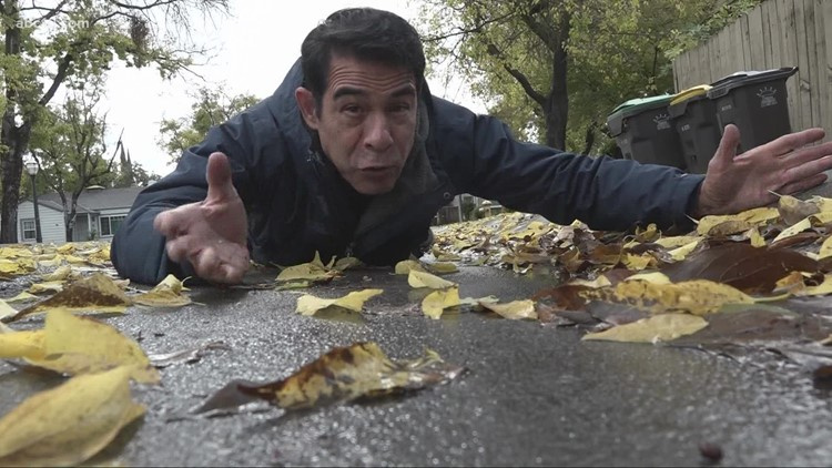 Wet weather pounded Stockton overnight ahead of a big Sunday storm