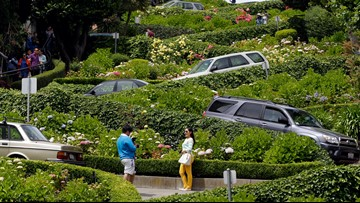 Newsom vetoes toll system for San Francisco's crooked Lombard Street