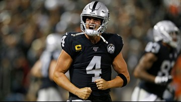 Raiders beat Broncos 24-16 in 1st game after Antonio Brown's release