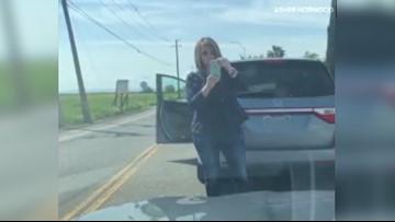 Dramatic West Sacramento road rage incident caught on camera