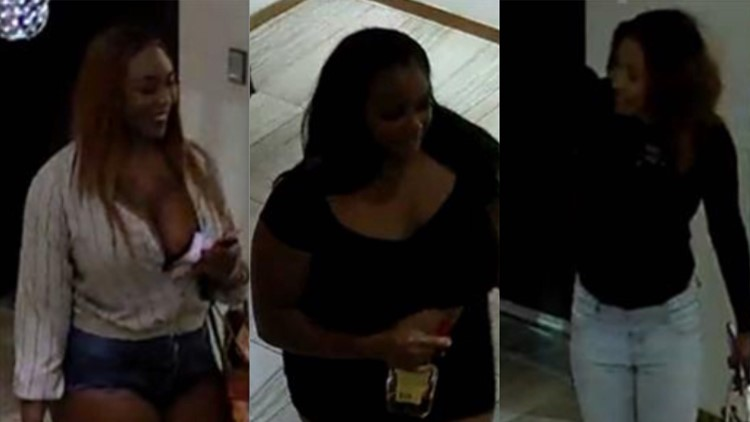 three suspects sought in downtown sacramento theft