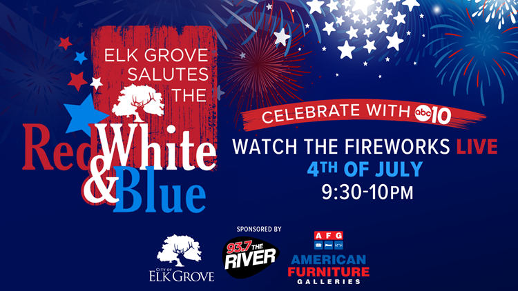 Elk Grove Salutes the Red, White & Blue