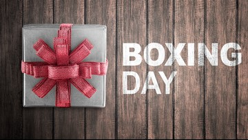 WHY GUY? Why does Boxing Day land on Dec. 26?