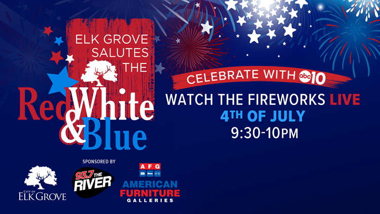 Elk Grove Salutes the Red White & Blue