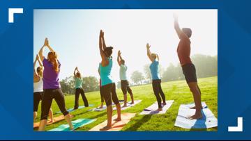 Yoga in the park starts 2019 season at Fremont Park