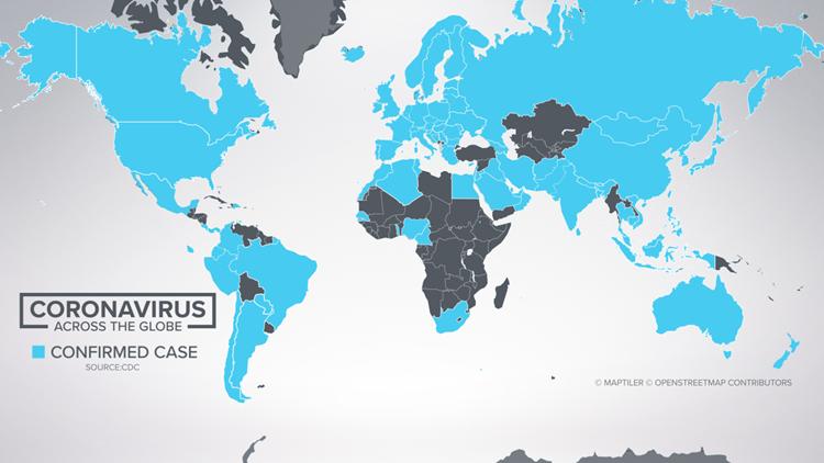 Coronavirus across the globe