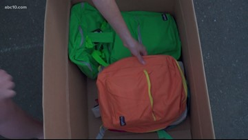 Backpack drive prepares South Sacramento kids for new school year