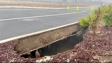 Turlock road near Monte Vista Crossings reopened weeks after repairs to 100-foot sinkhole   UPDATE