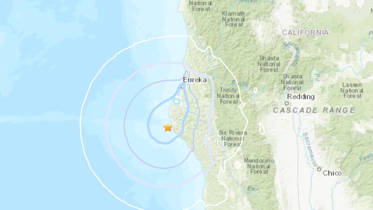 4.3 magnitude earthquake shakes the coastal region of Humboldt County