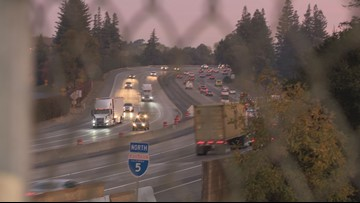 Lanes closed, traffic expected this week during I-5 construction in south Sacramento