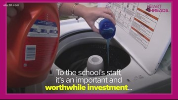 Heart Threads: Tennessee principal gets grant to buy washer, dryer to wash students' clothes