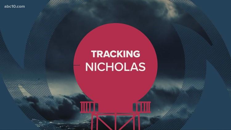 Hurricane Nicholas coverage