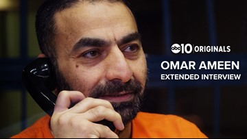 Why is Iraqi refugee, Omar Ameen still being charged for murder when the victim's parents say he's innocent?