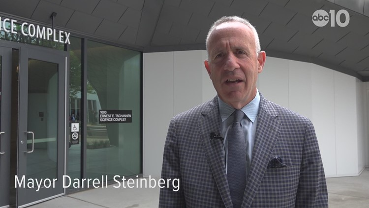 Sacramento Mayor Darrell Steinberg proud of new Sac State planetarium | Extended Interview