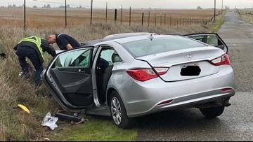 1 dead, 5 injured in head-on crash east of Sacramento