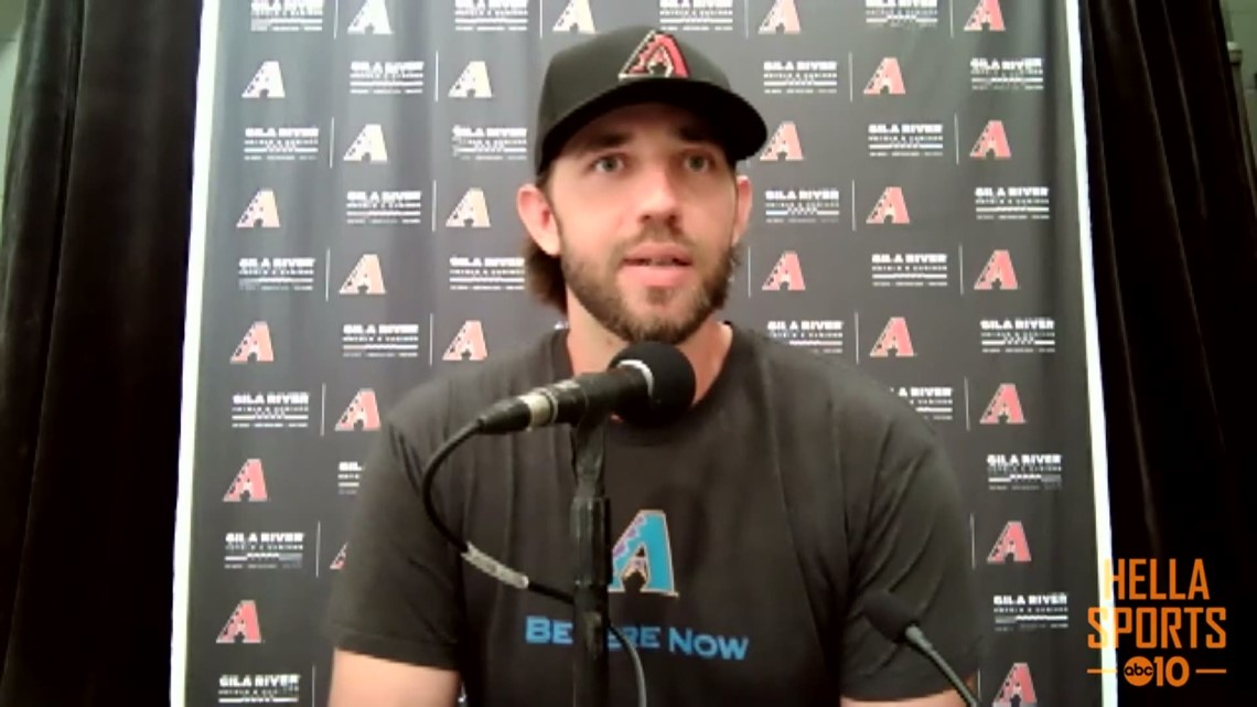 Madison Bumgarner ready to face former SF Giants team for the first time as an opposing pitcher