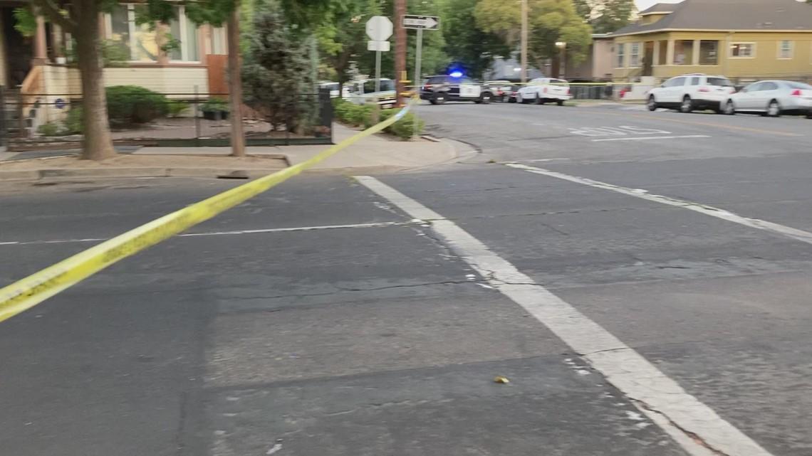 Stockton shooting scene   Raw video