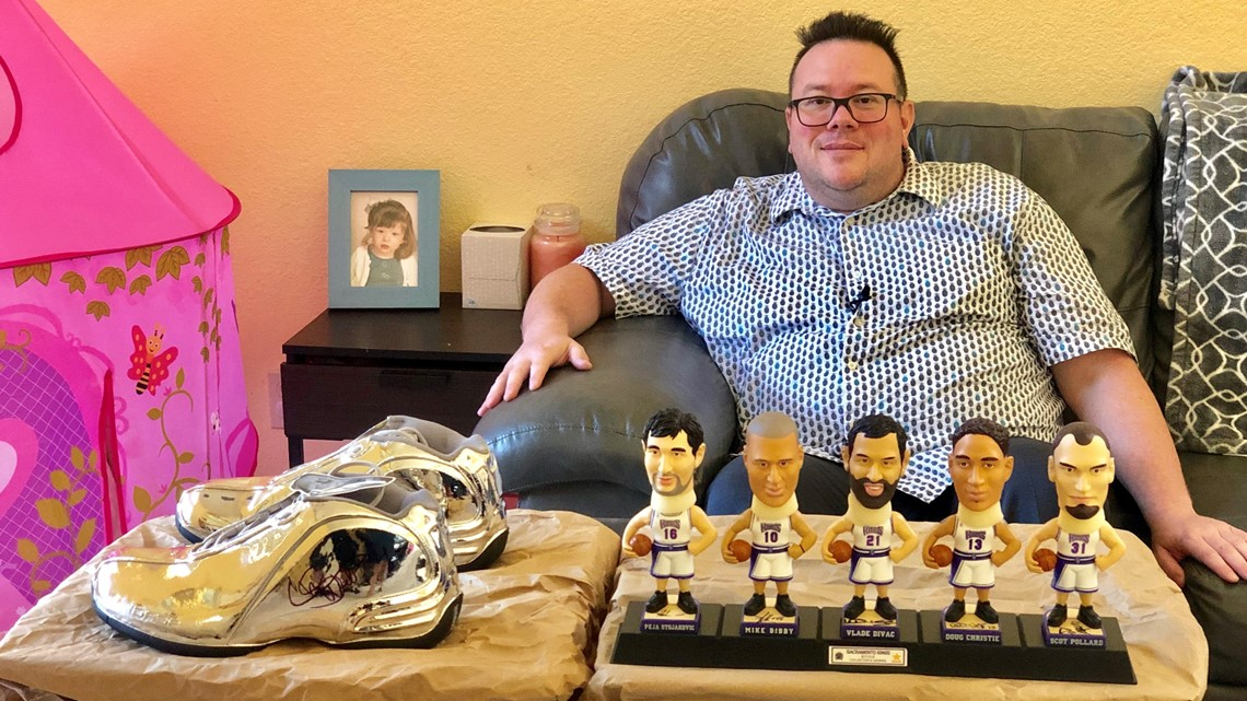 Elk Grove father selling Sacramento Kings memorabilia to pay for life-changing medical procedure