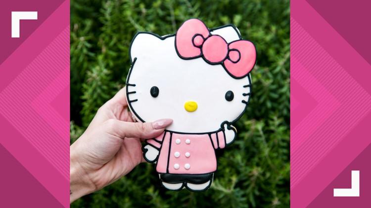 Giant Hello Kitty Cookie
