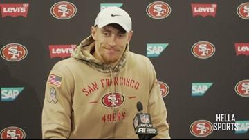 Super Bowl LIV Preview   San Francisco 49ers TE George Kittle
