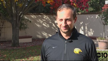 Del Oro head football coach Jeff Walters looks ahead to the D-II Sac-Joaquin Section Championship game ' FULL INTERVIEW
