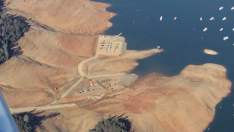 Lake Oroville in 2017