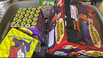 800 pounds of fireworks seized in Sacramento over Fourth of July holiday