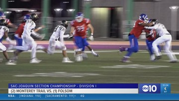 Folsom powers through second half, Capital Christian stays undefeated in Sac-Joaquin Section Championship games
