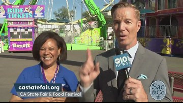 Mark S. Allen at the CA State Fair & Food Festival!