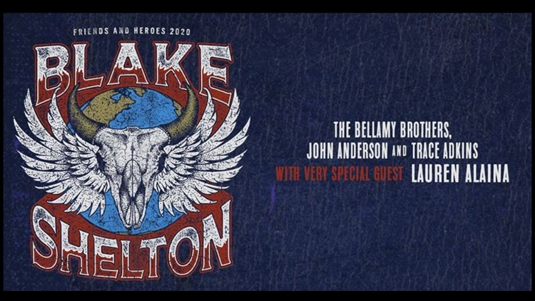 Blake Shelton Friends and Heroes 2020