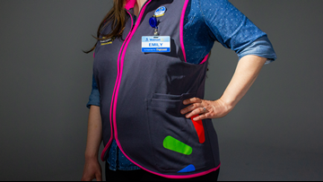 Iconic blue Walmart vests get 'upgrade' with new fabric made from recycled bottles