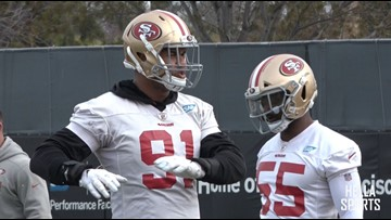 Sacramento natives preparing to play in NFC Championship Game with San Francisco 49ers