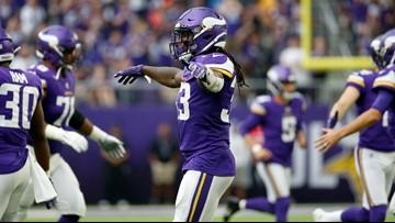 NFL rushing leader Cook leads Vikings romp past Raiders 34-14