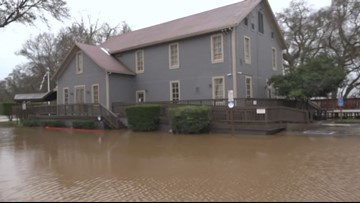 Sloughhouse restaurant closed for the winter after heavy flooding