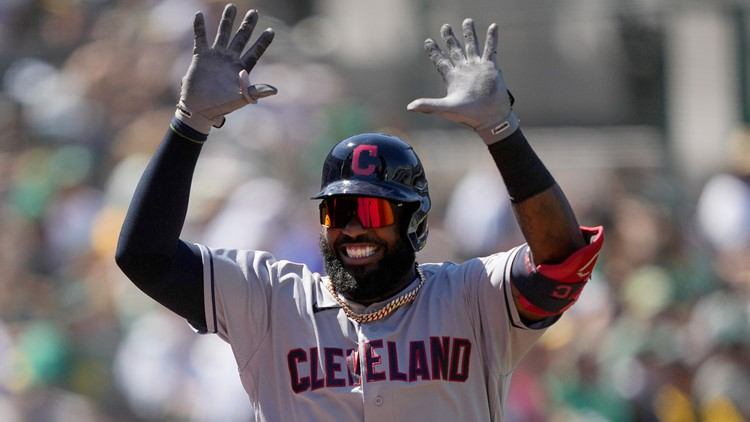 Reyes' long homer highlights Indians' 3-2 win over A's