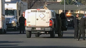 Bomb specialists still dealing with explosives found at Stockton home | Update