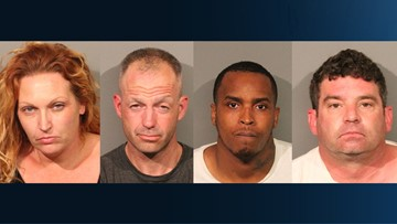 Suspects accused of stealing from retailers in Roseville arrested