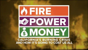 Fire - Power - Money:  California's burning crisis and how it's going to cost us all