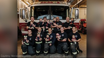 Oh baby! 10 babies born to Manteca firefighters