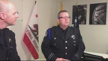 Officer Natalie Corona's training officer speaks on how family impacted her life