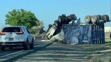 Southport Parkway in West Sacramento re-opened after semi crash | Update