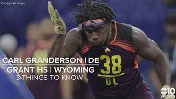 Carl Granderson – NFL draft 2019 prospect – DE