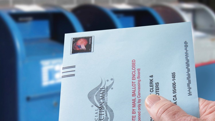 100,000 mail-in votes went uncounted in California's primary