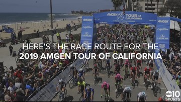 Here is the race route for this year's Amgen Tour of California