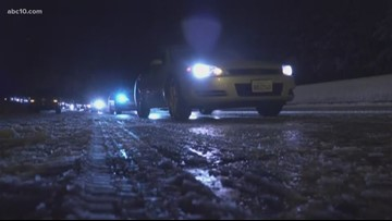 Roadways clear up along I-80 after series of spin-outs in Sierra