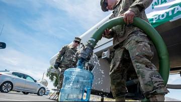 Water safe to drink in quake-shaken California town