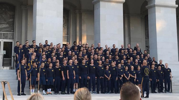 Longest cadet class in CHP history finally celebrates training after 75 weeks